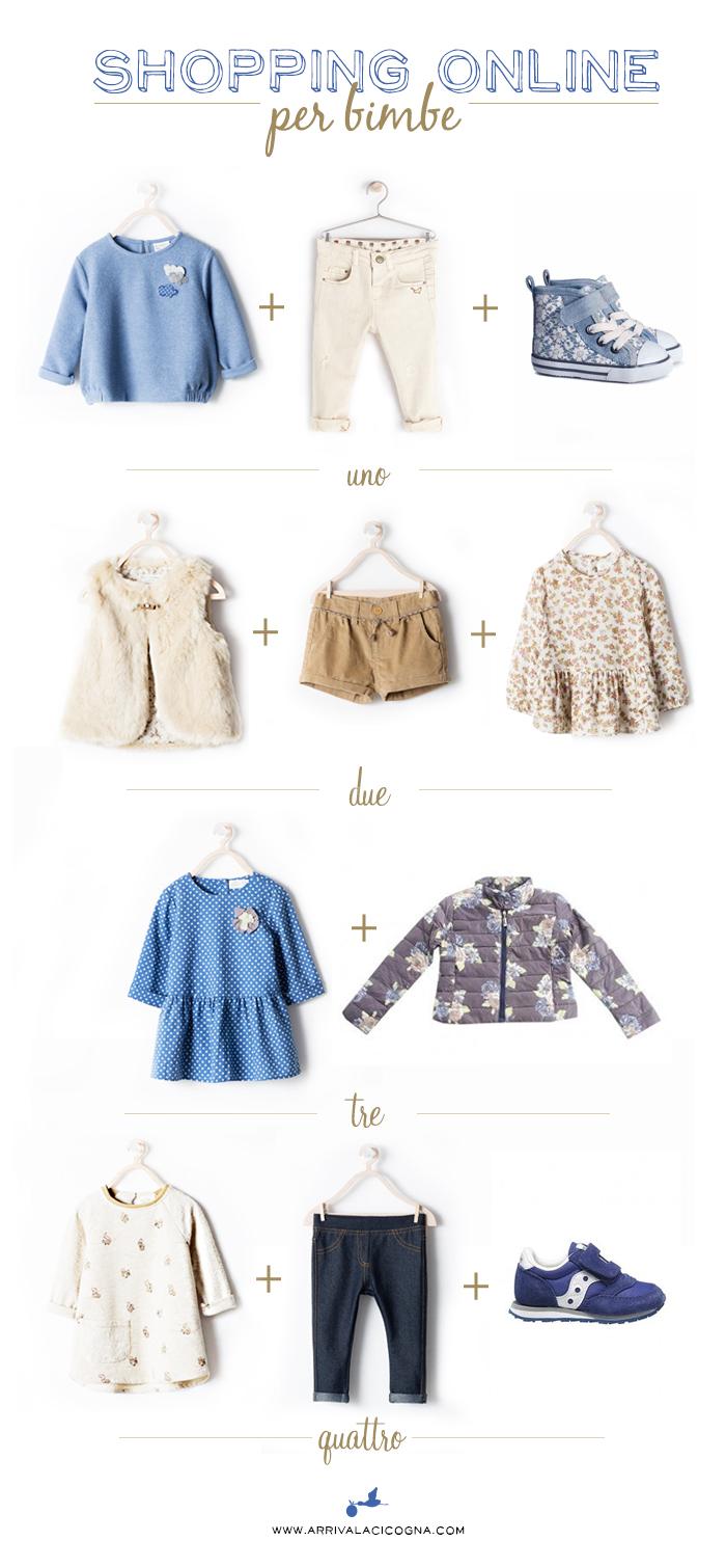 shopping online per bimbe
