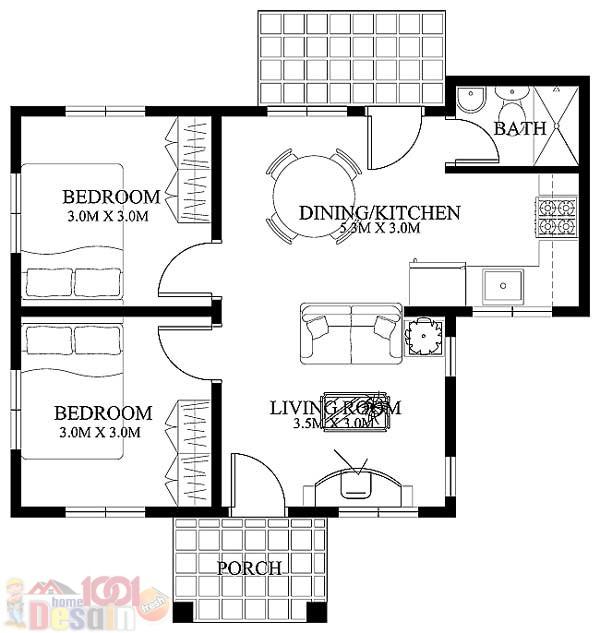 Rumah compact di Gading Serpong