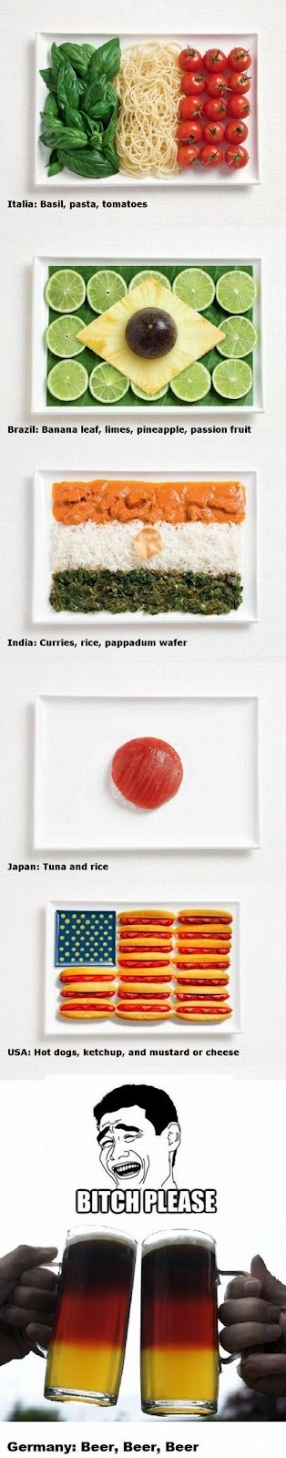 Different-Countries-explained-by-their-Food.
