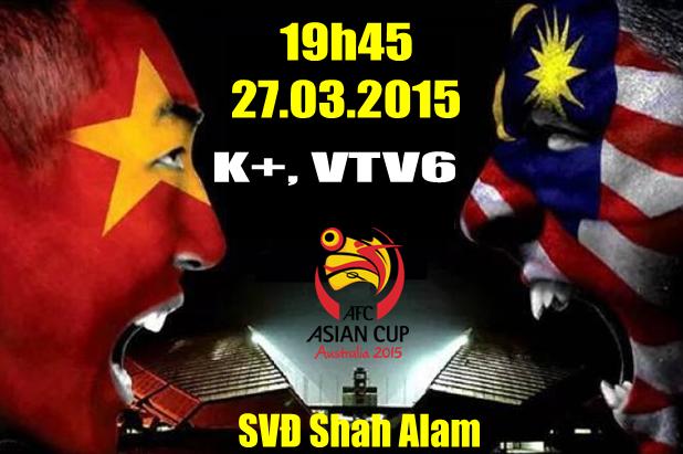 Video U23 Vietnam chiến thắng 2 - 1 trước U23 Malaysia ngày 27/03/2015