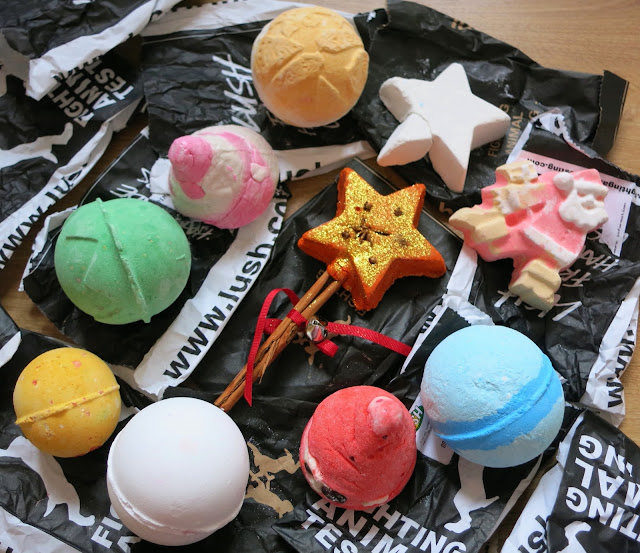 LUSH Autumn Haul 2015