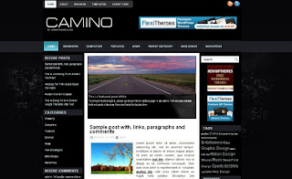WordPress-Template Camino