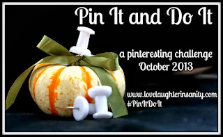 Pin It and Do It Progress – October Food Edition