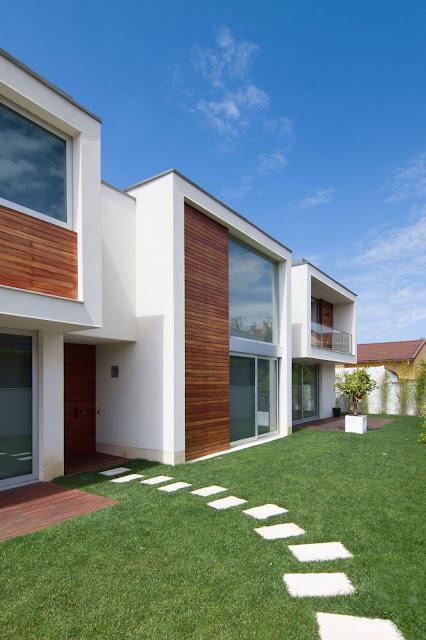 Diseno de casa contemporanea por omasc arquitectos for Diseno exterior casa contemporanea