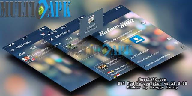 BBM Mod Ralova Blur v2.11.0.18 Apk
