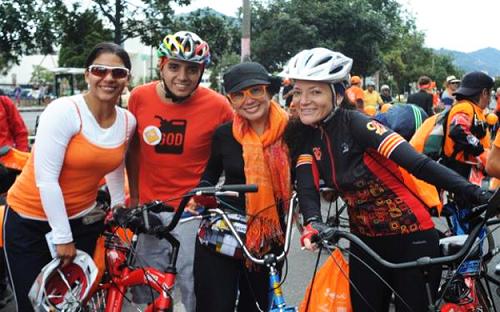 Promoción del uso de la bicicleta en Bogotá