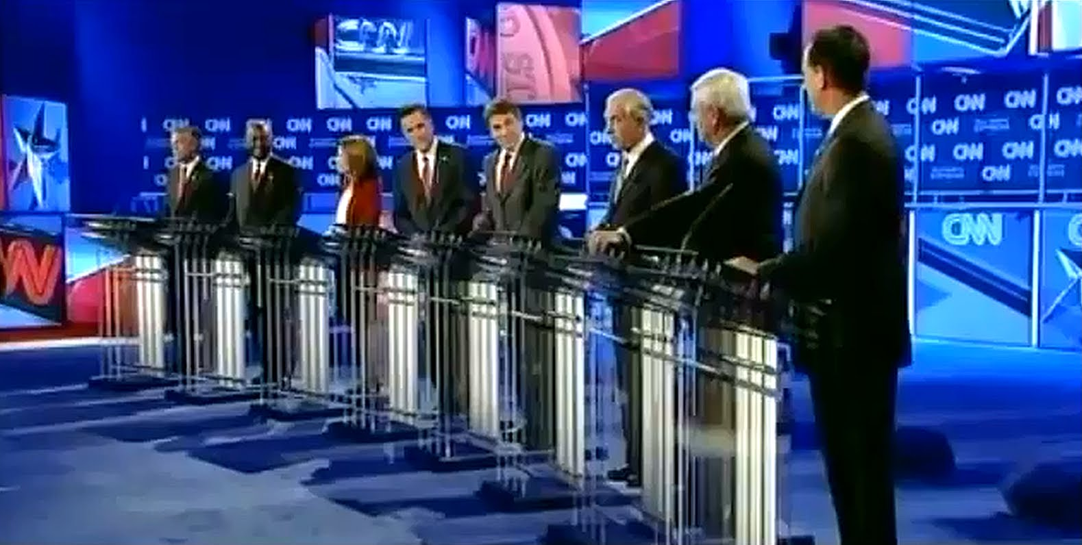 Republican National Security Debate 11/22/11 FULL VIDEO