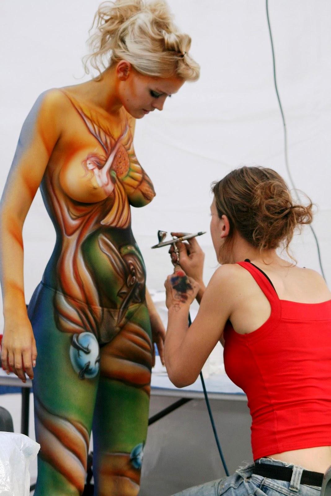 world body painting festival austria asia selatan