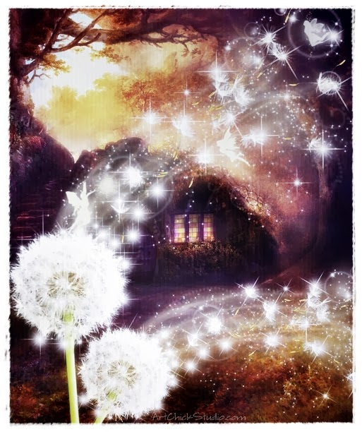 Fairy Wishes Digital Art