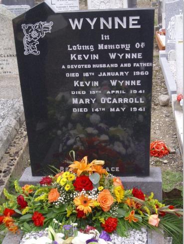 Wynne headstone, Mount Jerome Cemetery, Dublin
