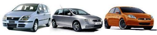 modelos coches Fiat