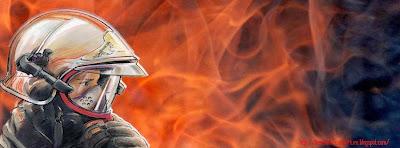 Image de couverture facebook pompier