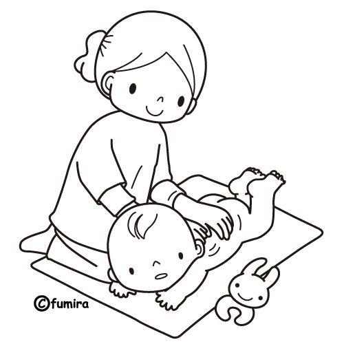 Mama embarazada animada para colorear - Imagui