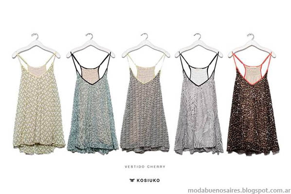 Moda 2014. Tops verano 2014. Kosiuko 2014.
