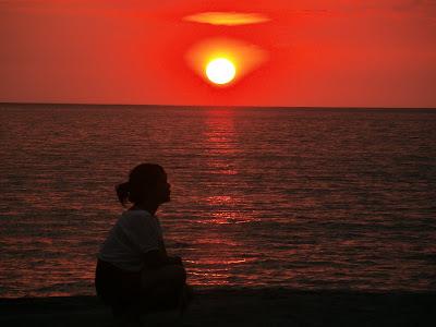 Nagsasa Cove Sunset