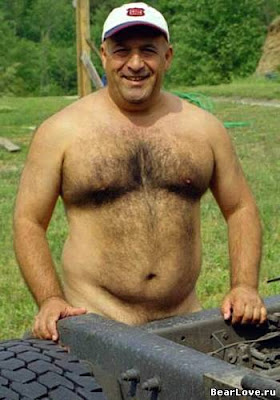 cute nudist - hairy daddies - big muscular man