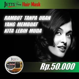 Rambut yang beruban masker digunakan setiap hari sai rambut kembali