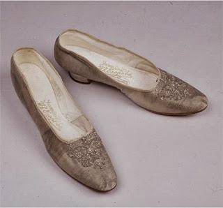zapatos de la última zarina. Alejandra