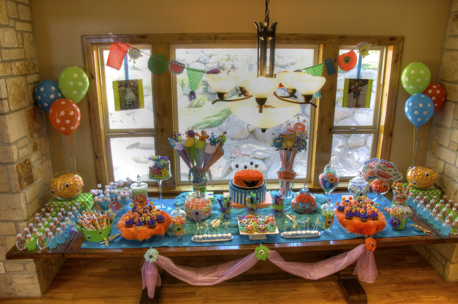 Bridgey Widgey Monster Birthday Party