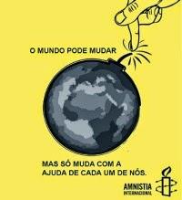 Por um mundo melhor.