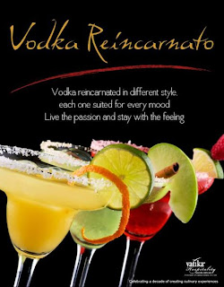 Enjoy Vodka  at Italiano