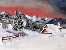 Sneeuwlandschapje