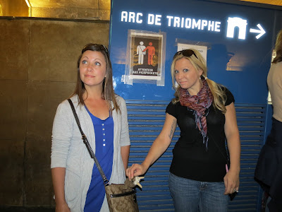 Arc De Triomphe pedestrian tunnel, Paris, France www.thebrighterwriter.blogspot.com
