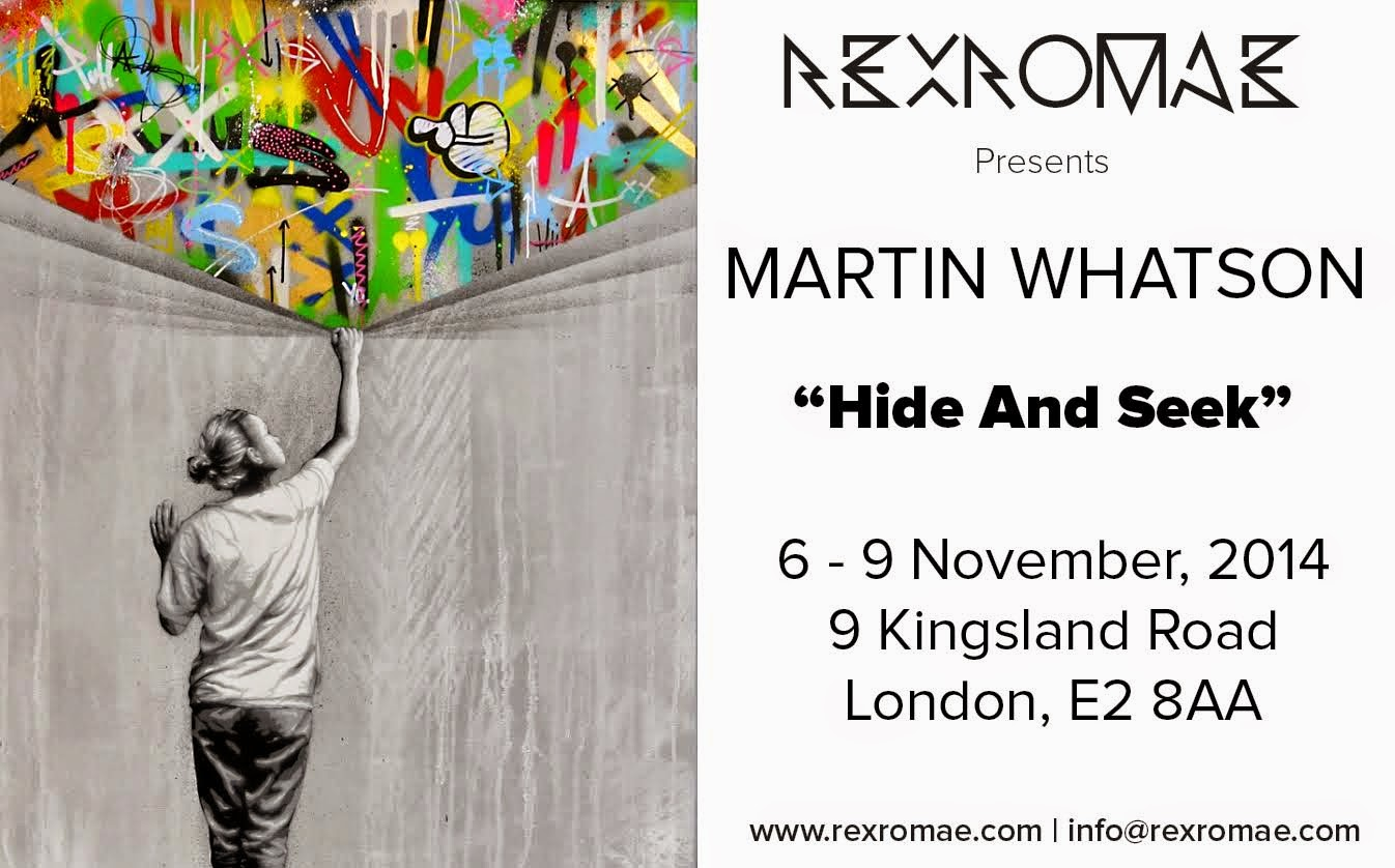 Next month, our friend Martin Whatson will be opening his new solo exhibition in London, UK at the RexRomae Gallery on November 6th.