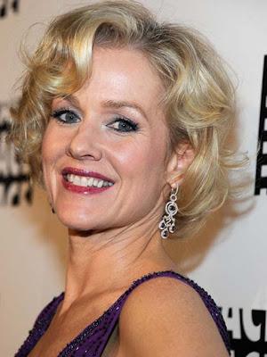 Penelope Ann Miller Gemstone Chandelier Earrings