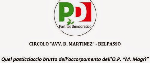 OperaPia Magrì, PD Belpasso: Comune distratto
