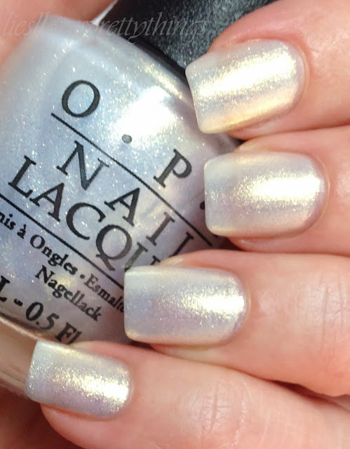 OPI Ski Slope Sweetie swatch and review