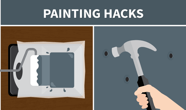 Painting Hacks and Tricks to Make the Job Go Smoother