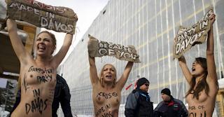 Los indignados en Davos