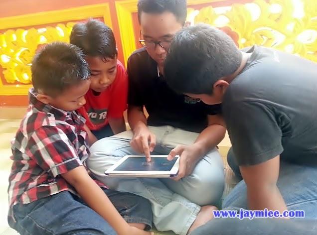 kanak-kanak dan gadget