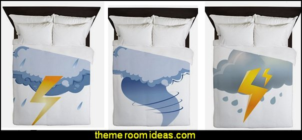 weather themed bedding rain bedding clouds bedding tornado bedding rain theme bedroom decorating ideas