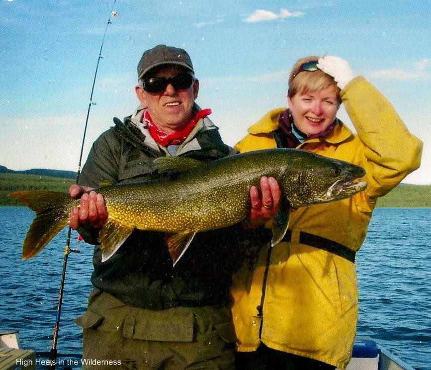 My big fish. Yukon 2006 Streamside chic.
