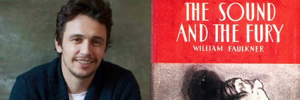 James Franco along with novel title