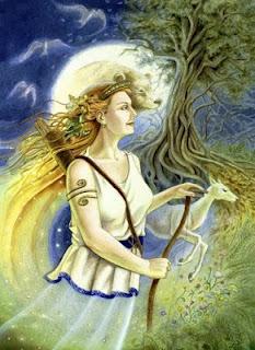 Face to face contigo mismo las diosas de cada mujer artemisa diosa de la caza y de la luna fandeluxe Images