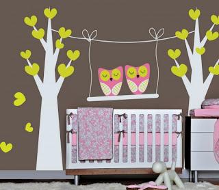 dekorasi kamar bayi dengan wall decals stickers | sci pusat