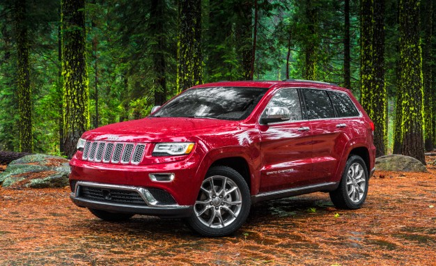 2014 Jeep Grand Cherokee Wins Midsize SUV Challenge