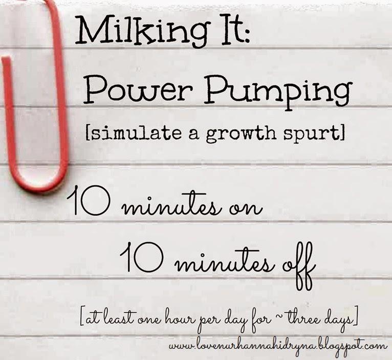 tips meriahkan susu badan