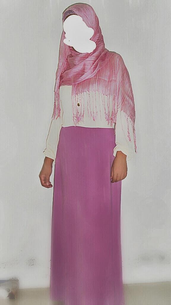 Baju Gamis Murah Dan Cantik Dua Warna | Jual Busana Muslim Murah ...