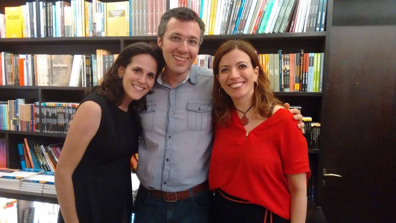 Outro Trio Maravilha!!Cris, Leo e Ana