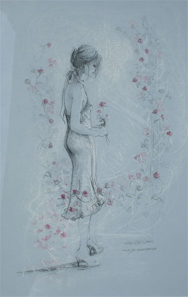 Mist of Dreams   Karen Wallis   British Figurative painter