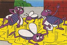 Fábula de Esopo Las moscas y la Miel, fabulas cortas con moraleja