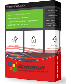 Download Madcrosoft PC TuneUp Tools 2014 8.1.000 Including laxity