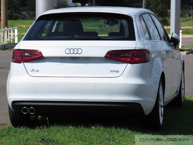 Audi A3 Sportback 1.8 Ambition 2015 - Preço R$ 128 mil