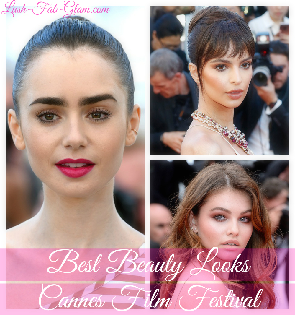 Stunning Celebrity Beauty Looks To Try From The Cannes Film Festival Red Carpet.