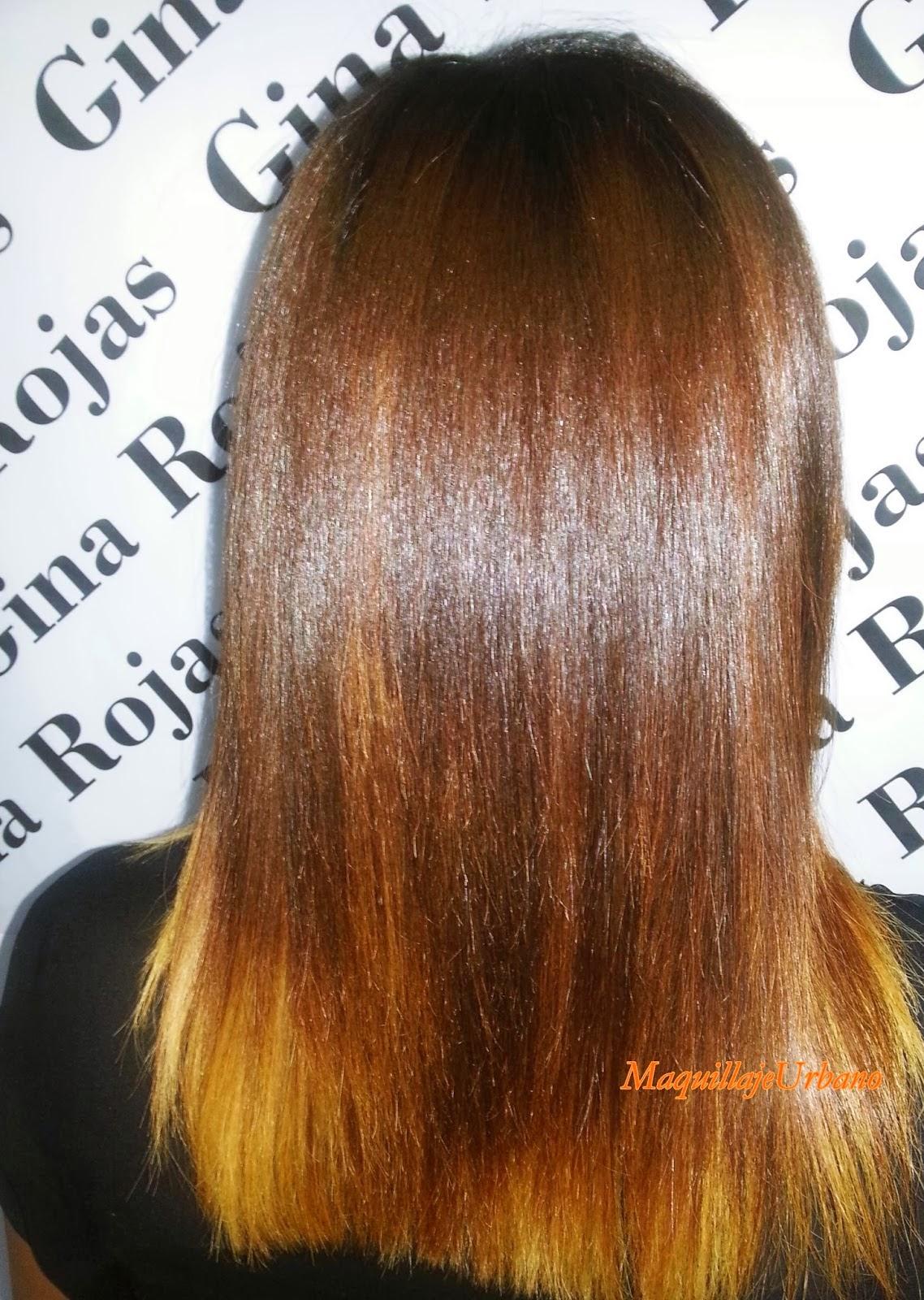 cabello despues de la hidratacion