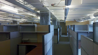 Open floor plan at SURF Incubator